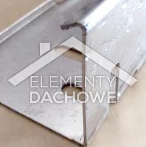 Listwy żwirowe aluminiowe