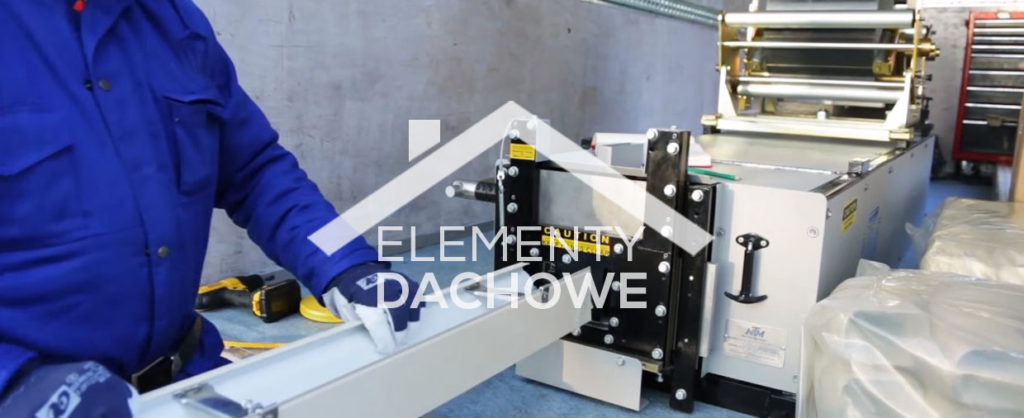 Maszyny do produkcji rynien